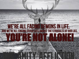 Cave In - The Amity Affliction Poster by RonyeryX