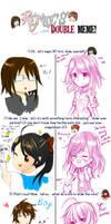 Double Meme with Yukia by FutatsunoKaanjitsu