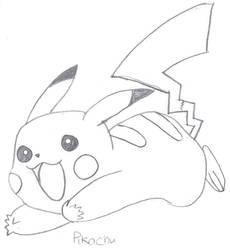 Pikachu1 by JemmaLou94