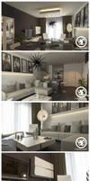 Studio apartment by erdenekin