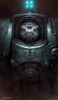 Space Hulk FanArt by piofoks