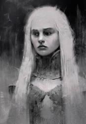 Quick study / Daenerys by piofoks