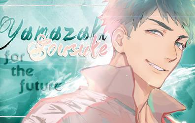 Yamazaki Sousuke Wallpaper by MiMintCream