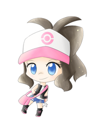 Hilda Sticker by cyndaquilgirl