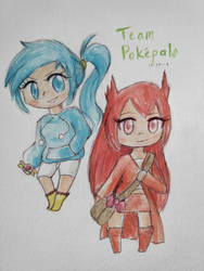 Team Pokepals by cyndaquilgirl