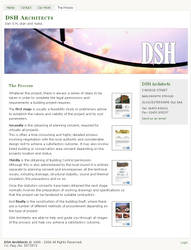 DSH Architects Website Launch by mctt