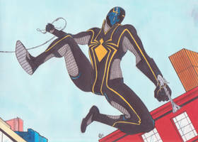 New Spider-man armor by spyder8108