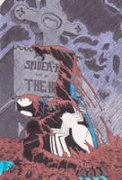Spider-man grave by spyder8108