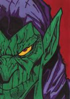 Green Goblin by spyder8108