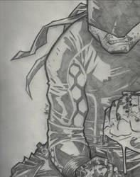 Daredevil Sketch by spyder8108