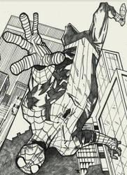 Spider-man Fall by spyder8108