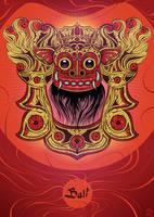 Bali Lion by N-Abakumov