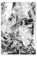 Marvel Knights: Four Inks by MikeDeodatoJr
