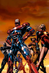 Dark Avengers 01: 2nd Print by MikeDeodatoJr