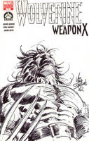 Wolverine Hero Initiative 2 by MikeDeodatoJr