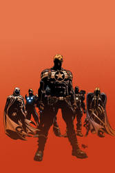 Secret Avengers 05: Colors by MikeDeodatoJr