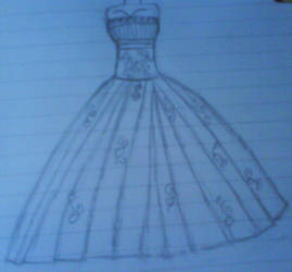 Wedding dress by team-eric-damon