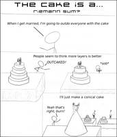 The Cake is a Riemann Sum by The-Camo