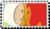 Flame Princess (Princesa flama) and Finn stamp by SHAORAN-UCHIHA
