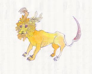 The Lion by Takiari-xXXx-Meyrimo