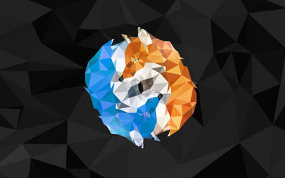 POLYGON ELEMENT FOXES by polygn