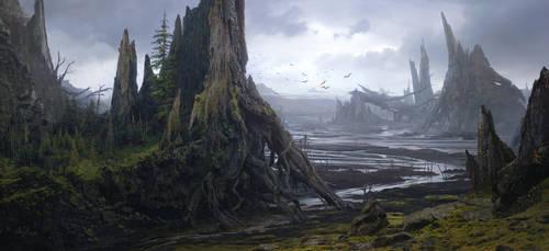 Fallen Giants by Fainernil
