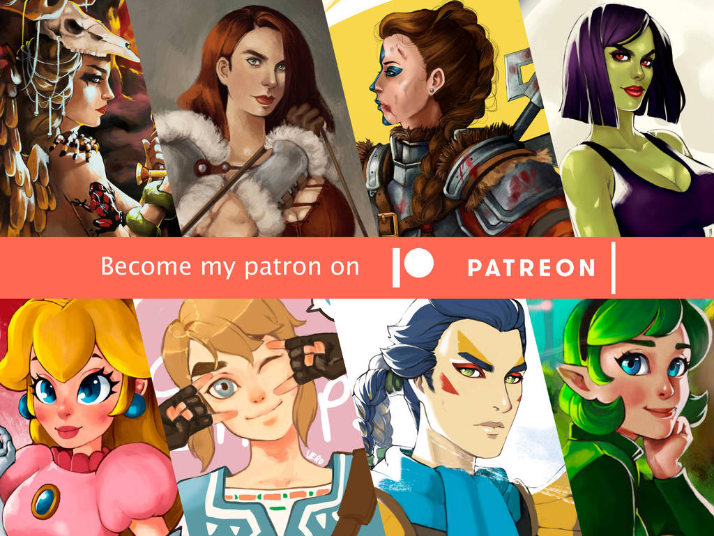 Support Vero on Patreon! by TheArtOfVero