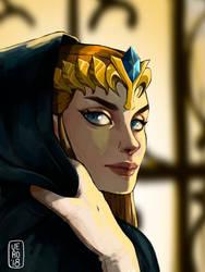 Princess Zelda - Zelda Twilight Princess by TheArtOfVero