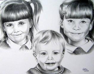 Lisa and Marks Children by iggytheillustrator