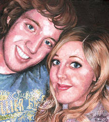 Chris and Char by iggytheillustrator