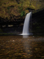 Sgwd Gwladys Waterfall by WickedWelshy