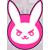 D.Va - Overwatch Emoticon by LemonySenpai