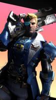 Soldier: 76 Commander Morrison - Overwatch by LemonySenpai