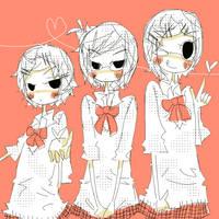 g00 - lockonlover threesome by nellonelloya
