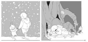 winter children by ASSORTEDJELLIES