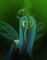 The Queen of the changelings by SharpTone