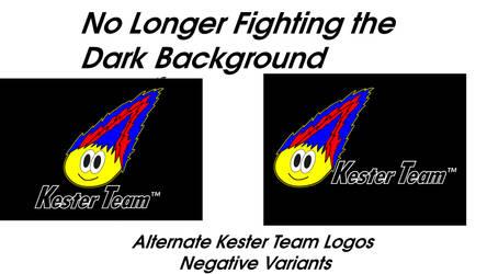 The New Kester Team Logos Black Version by KentaDavidofKT