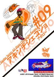 KTAS Character Series #09-Akinjide Kojo w Apollo by KentaDavidofKT