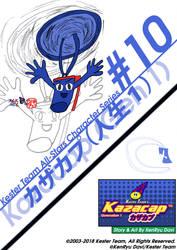 Kester Team All-Stars Character Series-#10 Kazacap by KentaDavidofKT