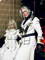 Trinity Blood - White Dress by adelhaid