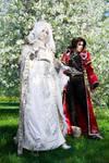 Opera - Sora and Kannagi by adelhaid
