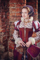 16th Century Renaissance Dress by adelhaid