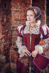 16th Century Renaissance Dress by adelhaid