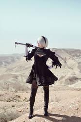 Desert Zone - Nier: Automata by adelhaid