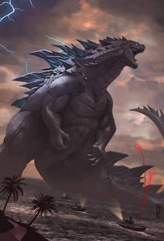 Godzilla by DanteFitts