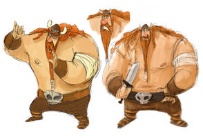 Viking Character Sheet 2 by the-Tooninator