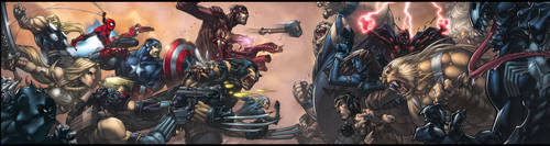 Ultimates Gatefold Cover by liquidology