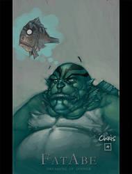 Fat Abe by liquidology