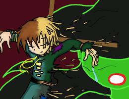 Elphabas spell for Fiyero by Doodlz18