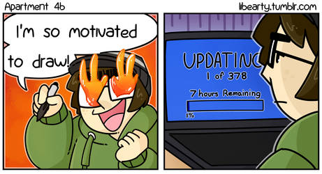 Updating... by Libearty